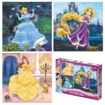 Princezny - Puzzle 3x55