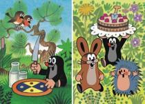 Krtečkovy dobroty - Puzzle 2x48