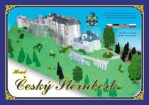 Hrad Český Šternberk - Stavebnice papírového modelu