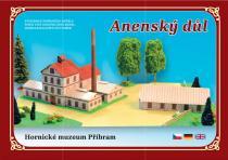 Anenský důl - Hornické muzeum Příbram - Stavebnice papírového modelu