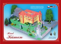 Hrad Kámen u Pacova - Stavebnice papírového modelu