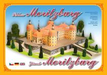 Zámek Moritzburg - Stavebnice papírového modelu