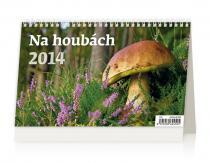 Kalendář 2014 - Na houbách - stolní