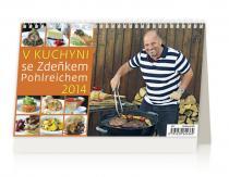 Kalendář 2014 - V kuchyni se Zdeňkem Pohlreichem - stolní