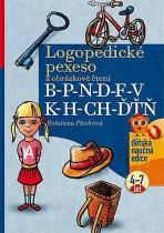 Bohdana Pávková: Logopedické pexeso a obrázkové čtení B-P-N-D-F-V-K