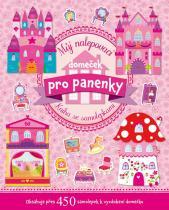 Kniha se samolepkami: Můj nalepovací domeček pro panenky