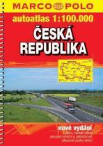 autoatlas 1:100.000: Česká republika