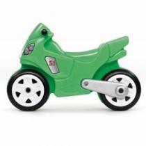 Odrážedlo Motorka - zelená