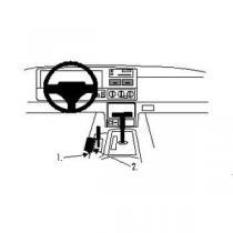 Brodit ProClip pro Jeep Grand Cherokee 96