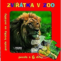 Zvířátka v ZOO puzzle