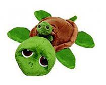 Suki želvička Rocky s miminkem