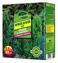 Forestina BIOMIN na thuje a cypřišky 2,5 kg