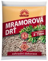 Forestina DEKOR Mramorová drť 4-7 mm 5 l