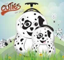 PICTURE CASE CUTIES and PALS dětský batoh a kufřík dalmatin