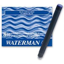 Waterman Inkoustové bombičky  dlouhé tmavě modrá omyvatelná