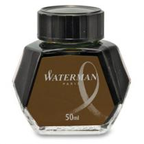 Waterman Lahvičkový inkoust hnědý