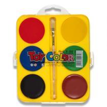 Toy Color Vodové barvy Maxi 6 barev