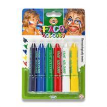 Koh-i-noor Barvy na obličej 6 barev