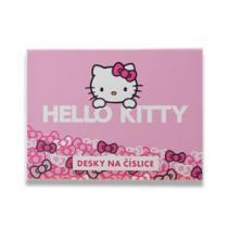 Karton P+P Desky na číslice Hello Kitty