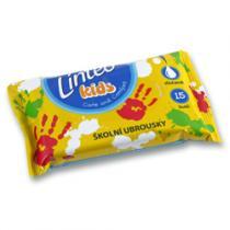 Linteo Kids Vlhčené ubrousky školní 15 ks