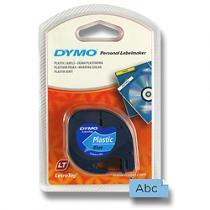 Dymo Letratag modrá plastová pásky pro štítkovač