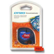 Dymo Letratag červená plastová pásky pro štítkovač