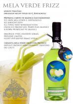 G. Bertagnolli Zelené jablko Mela Verde likér 1l