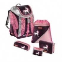 HAMA 5-dílný set Flexline Jednorožec Školní batoh