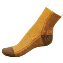 Phuseckle tm.béžovo béžové půlené ponožky dámské