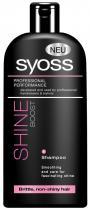 Syoss Shine Boost Šampon pro vyšší lesk 500 ml