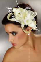 Livia Corsetti Mini top hat 29 - krémová