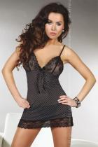Livia Corsetti Trish černá Košilka