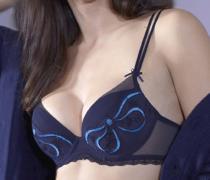 Simone Perele 14R340 COQUETTE černá