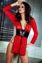 Livia Corsetti Cauvery červená Košilka