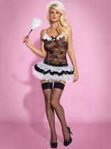Obsessive Housemaid černá Kostým