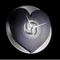 Discoclock 044 Heart 30cm