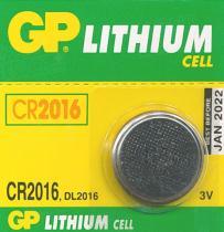 Gold Peak CR2016 baterie 3V