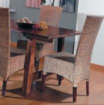 HITRA LASIO Židle coklat vysoké opěradlo