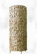 HITRA Stínidlo kulaté hyacint natur