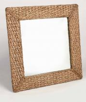 HITRA Zrcadlo 70x70cm hyacint natur