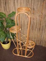 Axin Trading Ratanový stojánek na 3 květiny