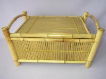 Axin Trading Truhla bambusová menší natural