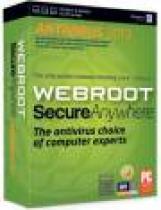 Webroot SecureAnywhere AntiVirus - 1 rok/1 PC