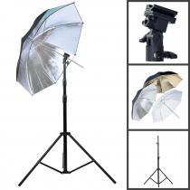 4studio Držák externího blesku se stativem a deštníkem
