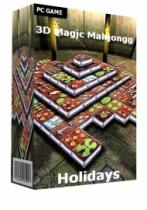 3D Magic Mahjongg Holidays (PC)