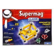 Supermag Magnetická stavebnice classic, 35 dílů