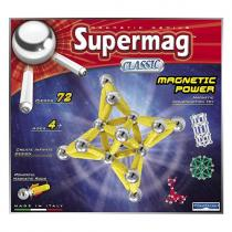 Supermag Magnetická stavebnice classic, 72 dílů
