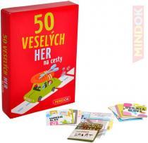 Mindok 50 veselých her na cesty zábavné hry pro 1 a více hráčů