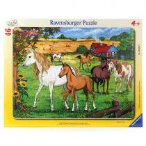 Ravensburger Koně, 46 dílků