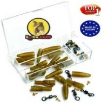 Extra Carp Lead Clip With Swivel Ring 10ks